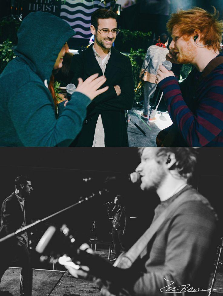 macklemore concert + ed sheeran concert = dead