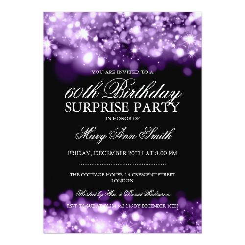 The 25 best Surprise birthday invitations ideas – Surprise Birthday Party Invites