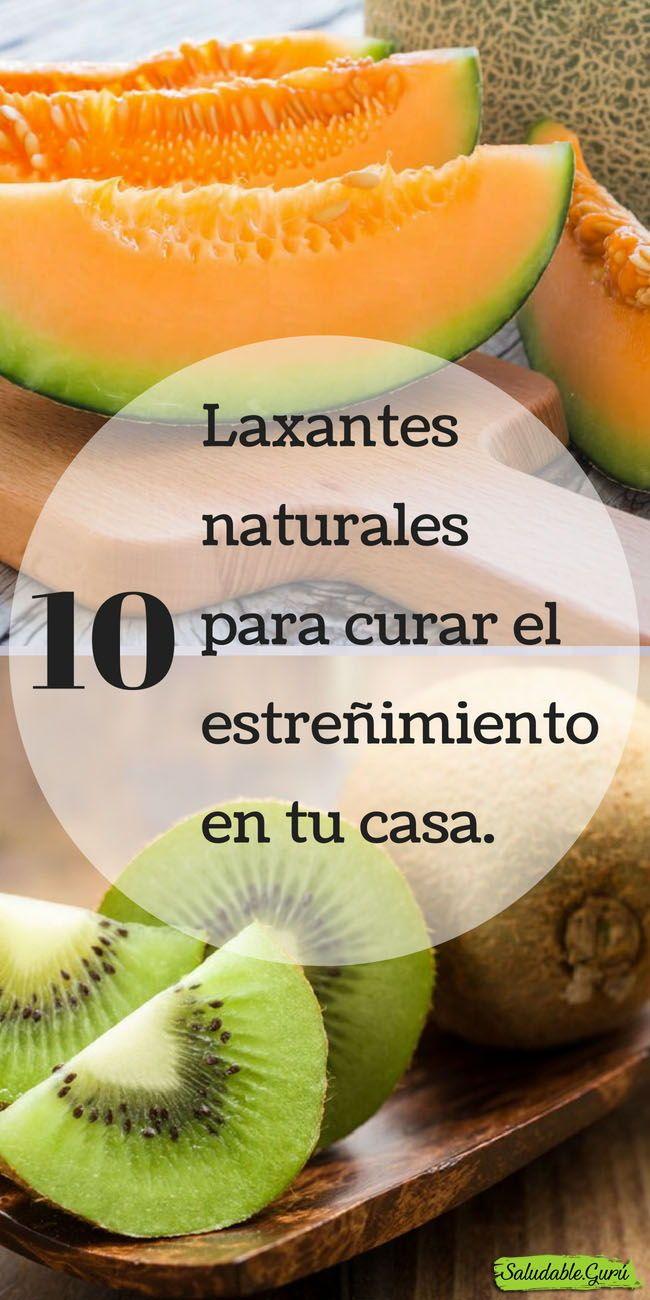 10 Laxantes Naturales Para Curar El Estreñimiento En Tu Casa Laxannte Estreñimiento Constipación Casero Natural Metabol Health Food Food Natural Healing