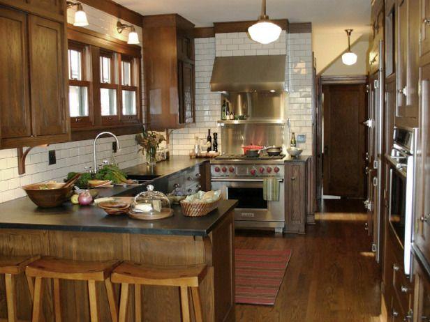 163 best craftsman kitchens images on pinterest   bungalow kitchen