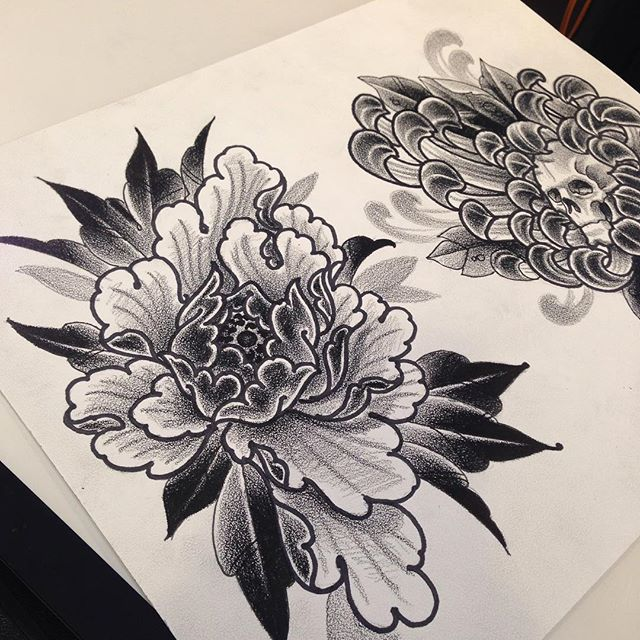 299 best peony (mudan) images on Pinterest | Tattoo ideas ...