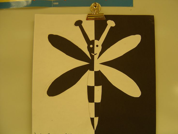 Positive Negative Space Art Lesson | SINKING SPRINGS ART: 5th Grade Positive and Negative Space