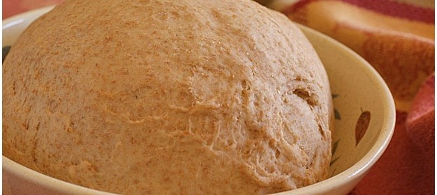Healthy pizza? You bet with this whole wheat pizza dough recipe