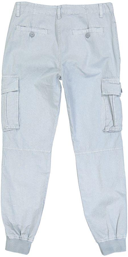 Gray Cargo Pockets Joggers - Men's Regular