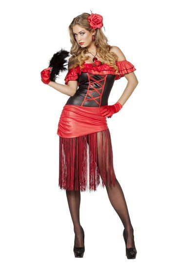Kostuum Spaanse Dame Jurk - De Kaborij