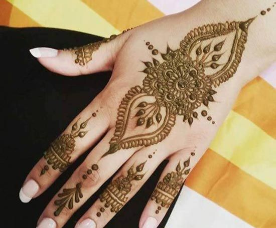 Beautiful Mehndi Designs For Girls                                                                                                                                                      More