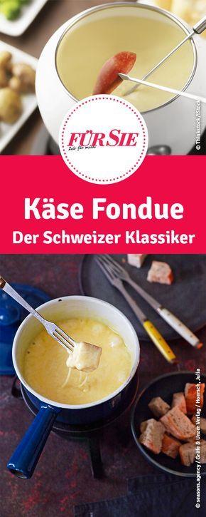 Käse Fondue - Der Schweizer Klassiker zu Silvester und im Winter