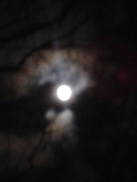 Moon at midnight