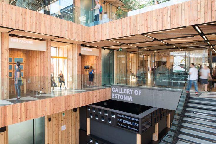 Estonian Pavilion at Expo Milano 2015, architecture by Kadarik Tüür Arhitektid. #ExpoMilano #IntraLighting #Gyon