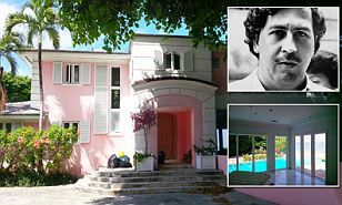 Miami Beach mansion once owned by Colombian drug lord Pablo Escobar sells for $10 million...and buyer plans to tear it down | Daily Mail Online
