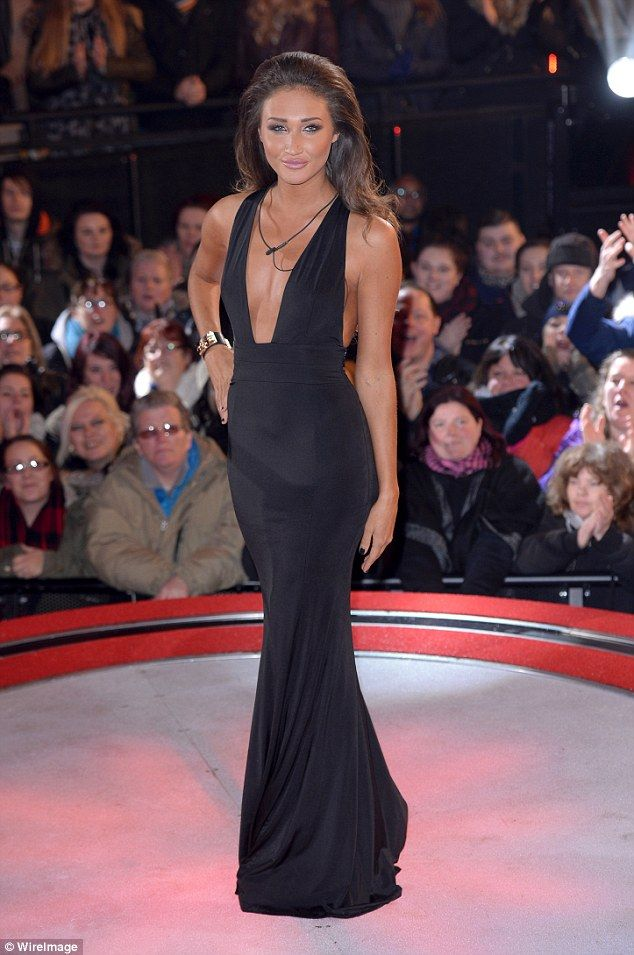 Farewell! Megan McKenna who was fourth to be given the boot from the Celebrity Big Brother...