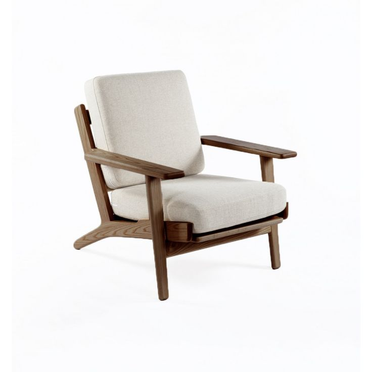 GE 290 Plank Chair - Inspired by the work of Danish designer Hans Wegner this chair has a chic simplicity to it. Following Wegner's tenet of organic functionality this piece has an inherent aesthetic appeal without being over-designed.