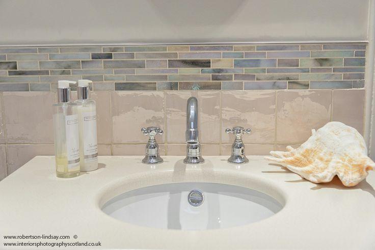 Bathroom sink and tiles sally homan for robertson lindsay for Bathroom designs edinburgh