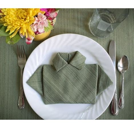 133 Best Napkin Folds Images On Pinterest Marriage