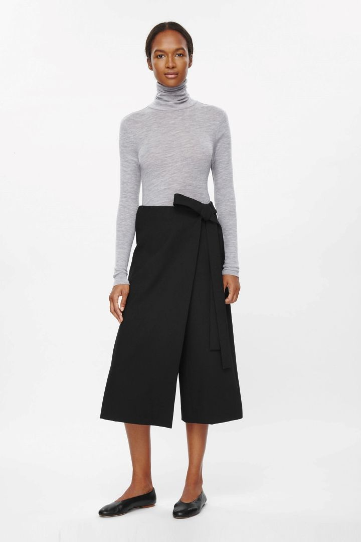 I just bought these - looking for a top to wear with them for work