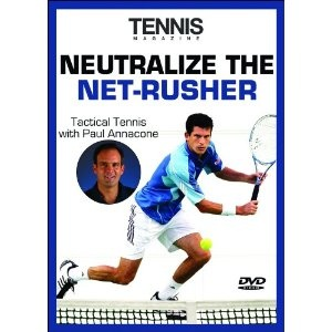 Tennis Magazine: Neutralize the Net Rusher (DVD)  http://www.localtenniscourt.com/localten.php?p=B000H5U81E  B000H5U81E