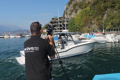 WAVE TV Action on Lake Ceresio (Lugano) - filming the Oceanmaster 31 CC  #WaveMagazin #Crownmarine #WaveTv #Powerboats #HeavyDutyBoats #yachtingstyle