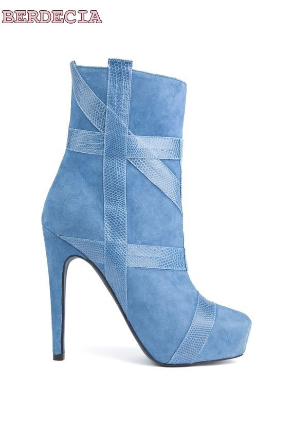 >> Click to Buy << 2017 new fashion light blue denim ankle boots thin heel roman style shoes woman dress shoes stiletto heel short boots on sale #Affiliate