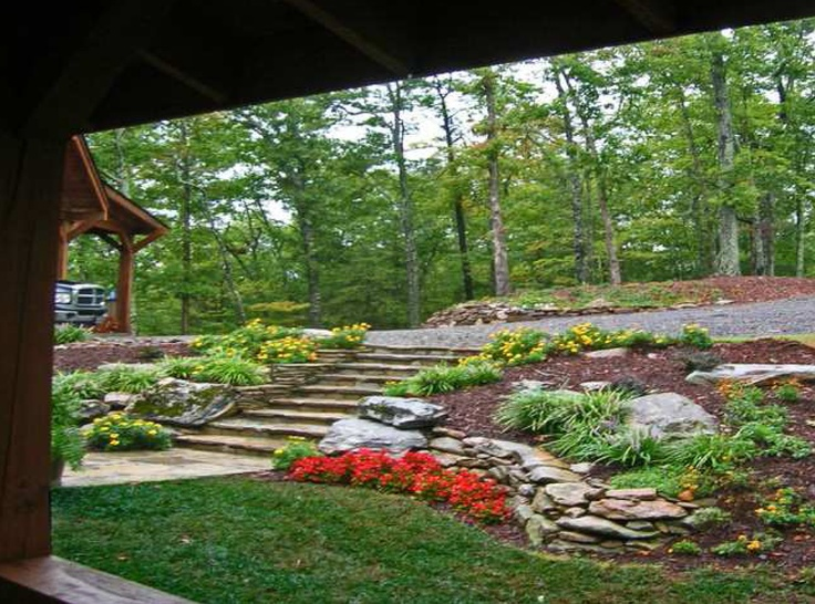 17 Best images about Tiered Retaining wall ideas on ... on Tiered Yard Ideas id=28525