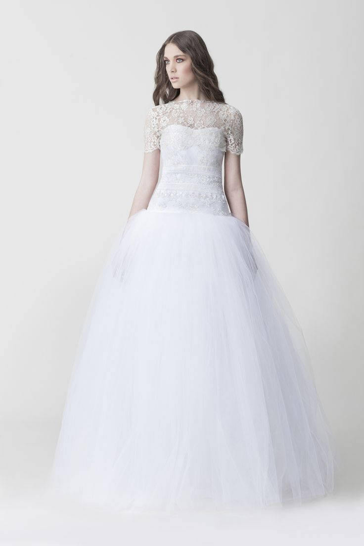 Makany Marta - Wedding Dress Silhouette For Body Type | itakeyou.co.uk