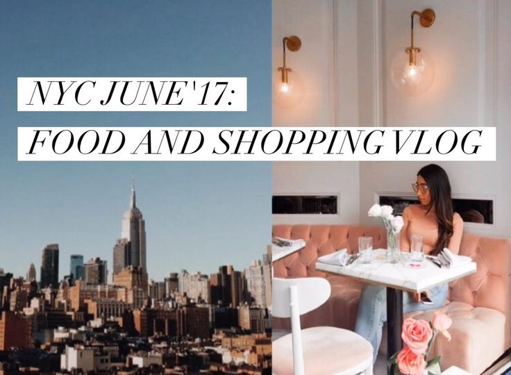 Watch now my NYC FOOD VLOG on Youtube! @thefashionbump