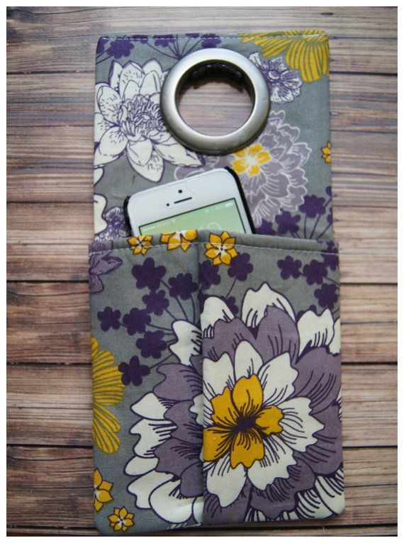 Cell Phone Wall Socket Charging Holder by CraftyFrogDesigns