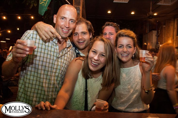 Nightlife at Molly's in Soulard - it's always a party! We have rotating live music, and Dj's Friday, Saturday and Sunday. People come out to live it up and party the week away! #mollysinsoulard #bar #nightlife #people #girls #guys #college #fun #night #out #barscene #drinks #party #weekend #goodtimes #stlouis #soulard #soulardstl