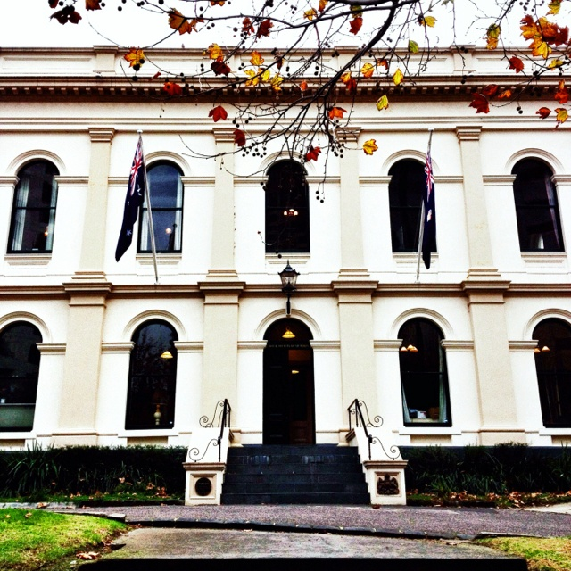 Royal Society of Victoria, La Trobe Street, Melbourne.