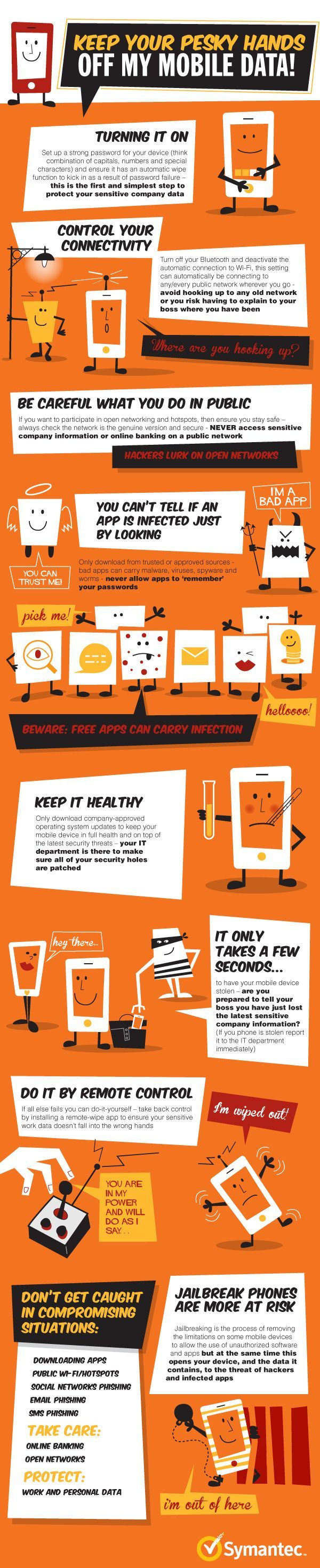 Keep Your Pesky Hands Off My #Mobile Data! #Symantec Know about mobile  security