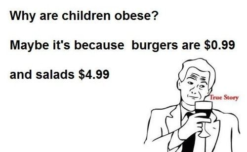 Why are children obese