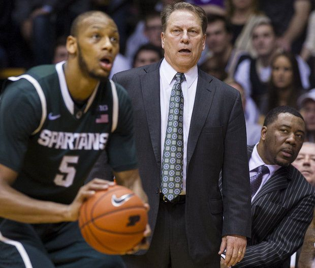 Michigan State's Adreian Payne says Purdue defense sagged off him so much, 'it just seemed awkward' | MLive.com