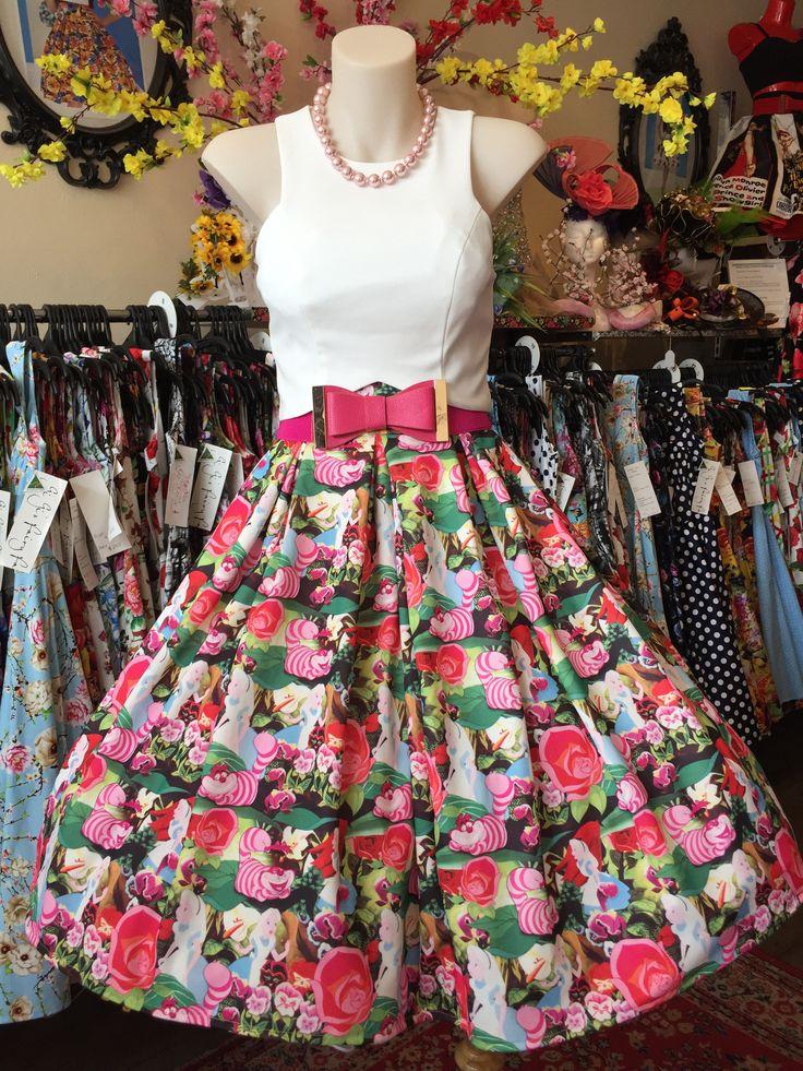 Alice in Wonderland Double Box Pleated Skirt – GiGi's Fairy Fashion
