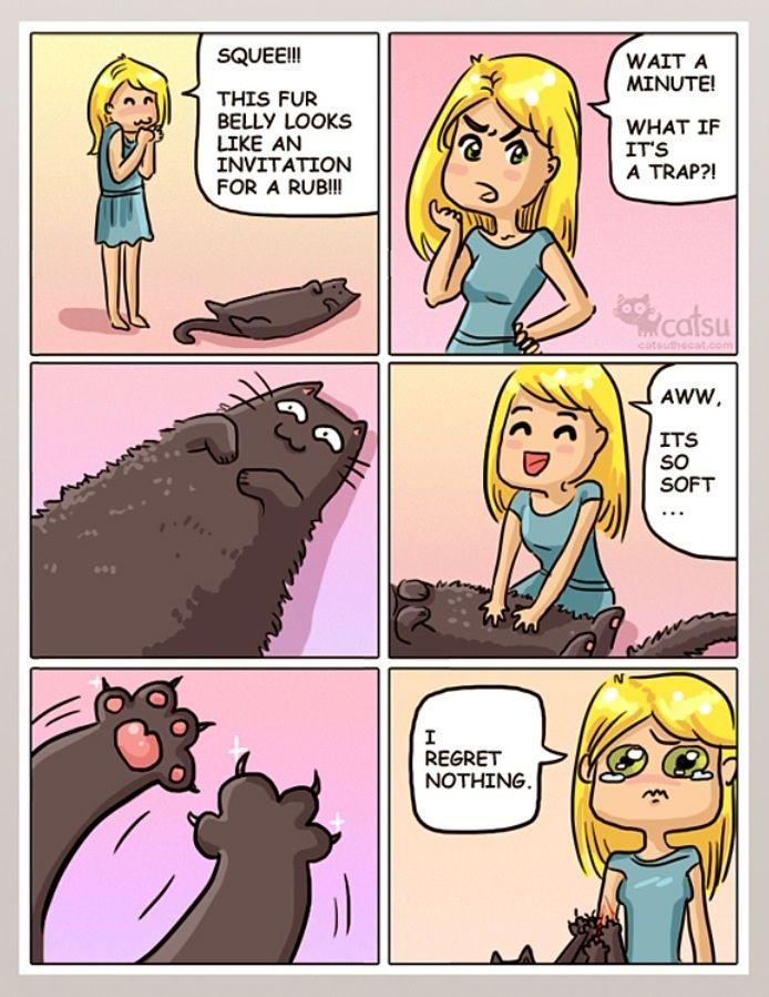 Catsu comics. If you like cats. - Imgur //// So much truth