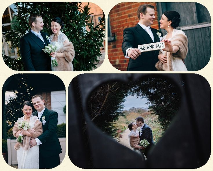 Gaynes Park Christmas Wedding ~ Mike & Lorna ~ Essex Wedding Photography » West Sussex Wedding Photography by Nicki Feltham