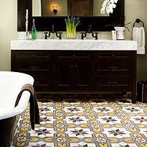 Mosaico hidráulico, tradicional y contemporáneo