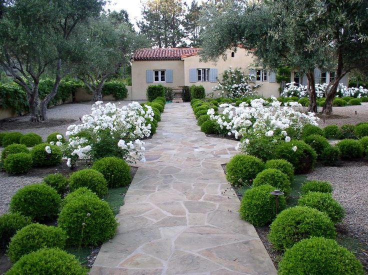 111 best formal garden design images on pinterest formal for Example garden designs
