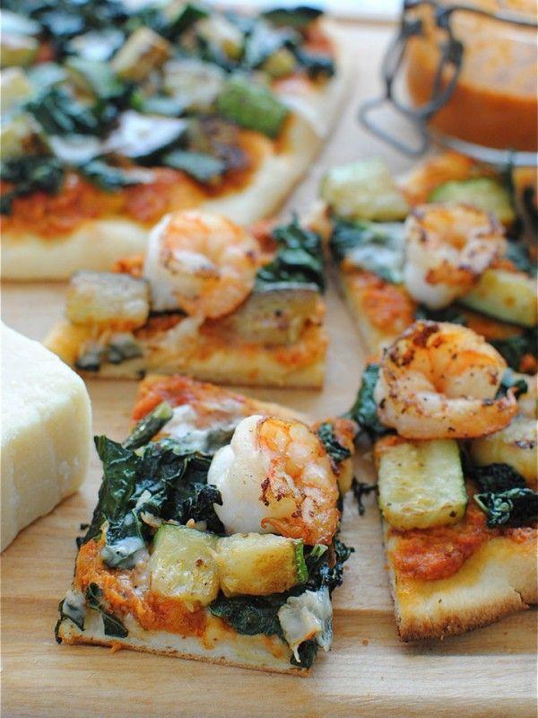 Pesto pizza, Kale and Pesto on Pinterest