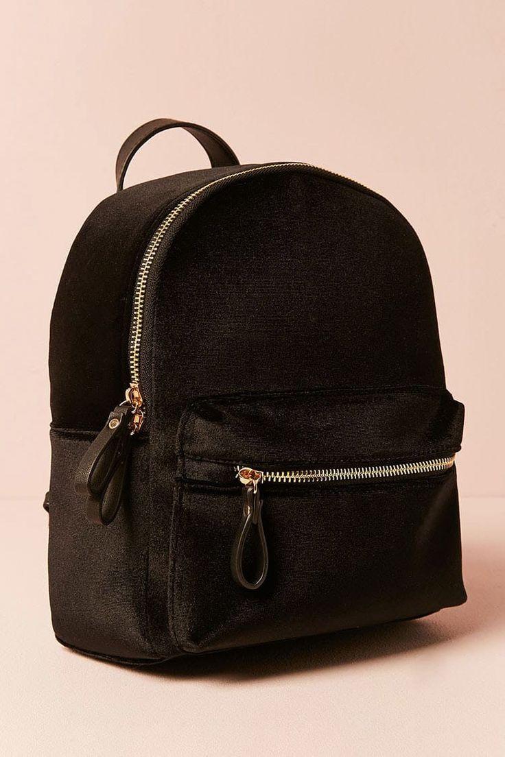 Smooth Velvet Backpack