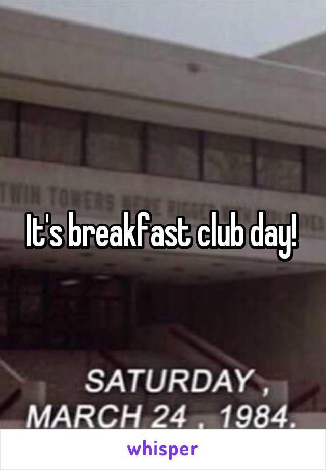 Break club quotes