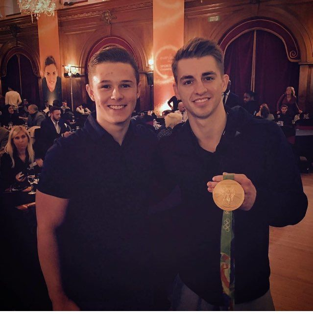 Brinn Bevan ‏@brinnbevan  ·  Good day with @everyoneactive today #eaSportingChamp  Max Whitlock