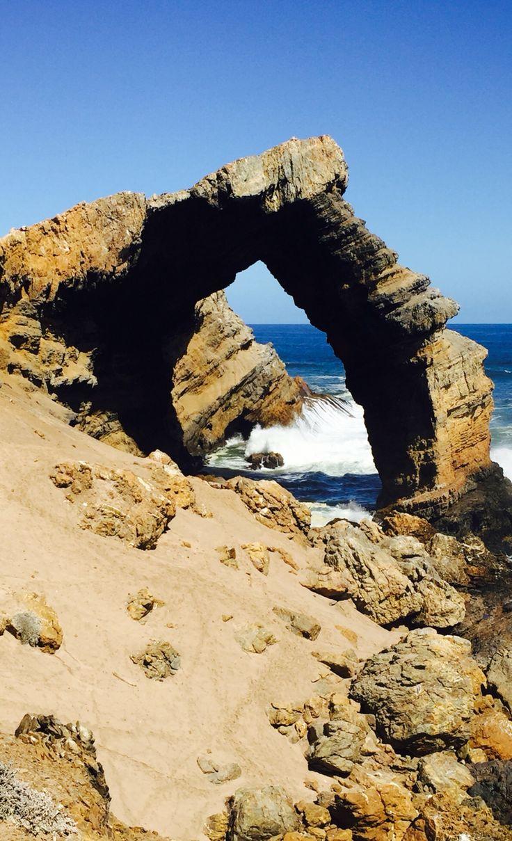 #Rock arch #coast #Namibia #Lüderitz Bogenfels
