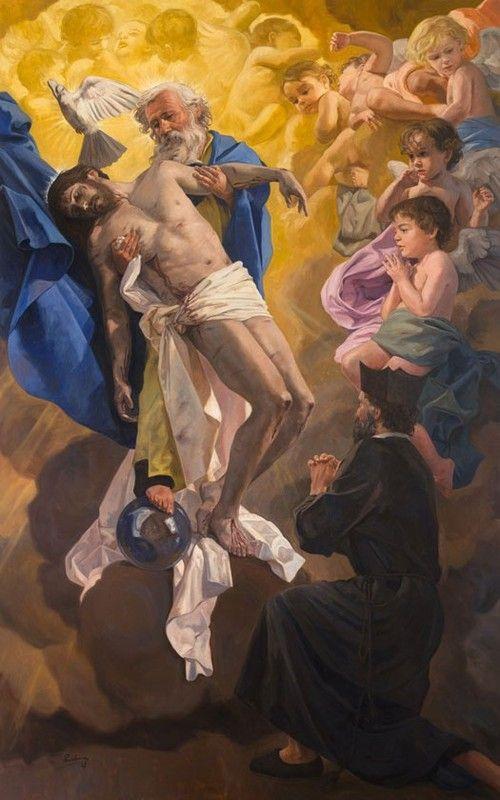 RAÚL BERZOSA- devoción S. Felipe Neri has Stma.  Trinidad