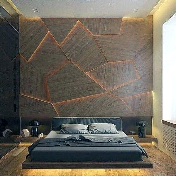 Bachelor Pad Bedroom Ideas Manly Interior Design Unique Wall