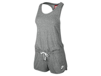 Cool Nike Clothing Outlet Online  Nike Jumpsuit Women  Mottled Blue Nike