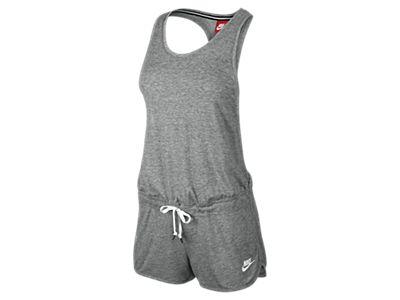 Cool Nike Clothing Outlet Online  Nike Jumpsuit Women  Mottled Blue Nike