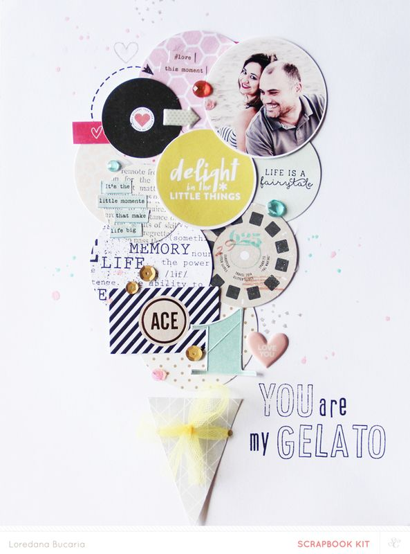 Blog: Inspired by Pinterest | Lory Bucaria - Scrapbooking Kits, Paper & Supplies, Ideas & More at StudioCalico.com!