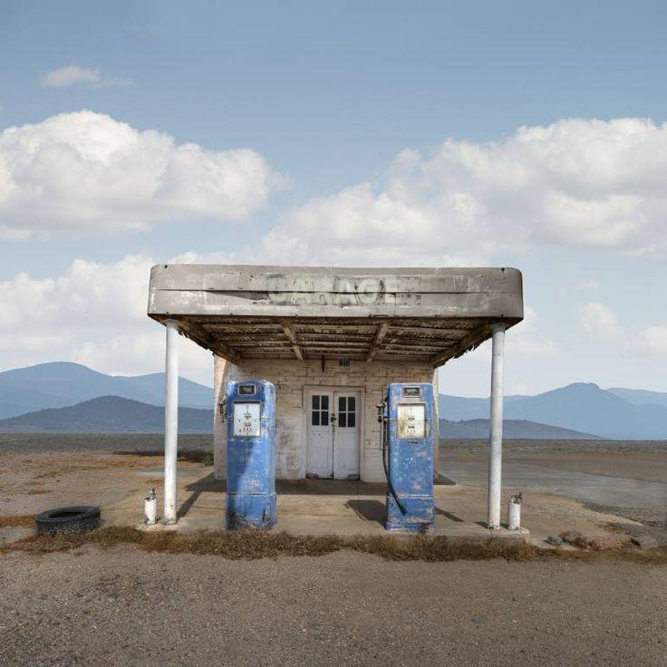 "Saatchi Art Artist Ed Freeman; Photography, ""Gas Station, Quartzite Arizona, Edition 1 of 9"" #art"