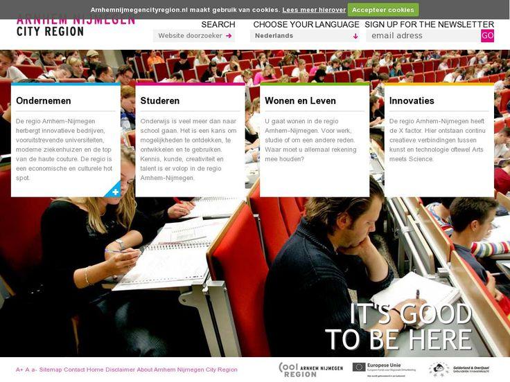 Als (online) brandmanager was ik van 2008 tot feb 2015 verantwoordelijk voor alle content (Nederlands, Engels, Duits) op portal www.arnhemnijmegencityregion.nl. Daarnaast verantwoordelijk voor alle online marketing en communicatie/ social media.