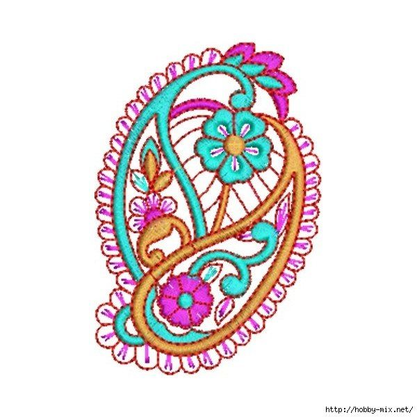 Indian Embroidery Designs Patterns