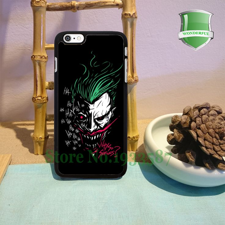 JOKER Original Black Cell Phone Cases For Iphone 7 7plus 6 6 plus 6s 6splus 5 5s 5c 4 4s B*0141